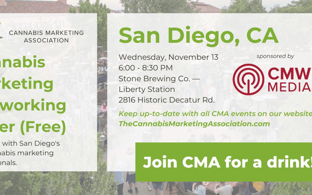 CMA San Diego: Networking Mixer (Free!)