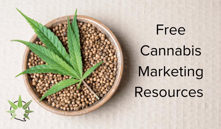 free cannabis marketing resources