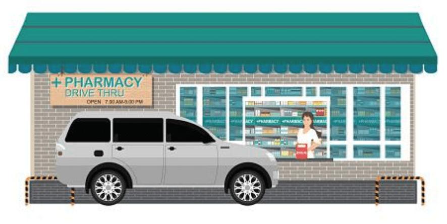 dispensary drive-thrus