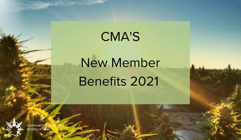 CMA'S New Member Benefits 2021