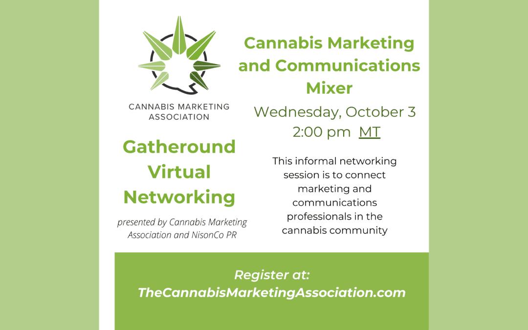 Cannabis Marketing and Communications Mixer